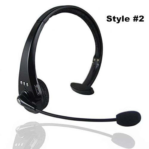 f233aaed223 Mono Hands-Free Over the head boom mic Wireless Bluetooth headset Recording  Headphone for cell phone trucker driver #2