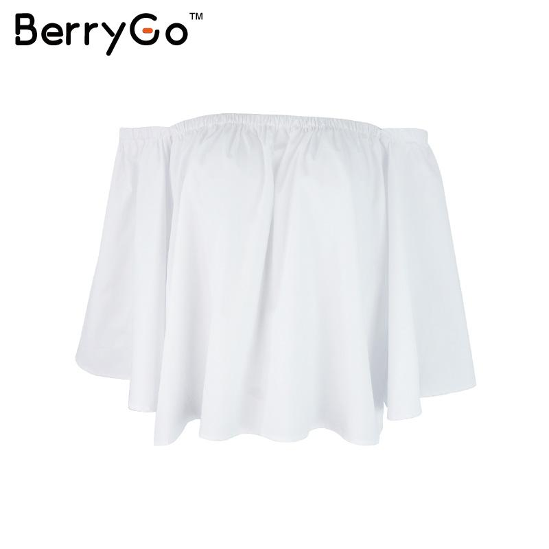 HTB1tzEZKVXXXXcjXVXXq6xXFXXXb - Sexy off shoulder white blouse women Ruffle PTC 95