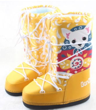 Women Snow Boots Space Deerdropship with Fur Women Boots Casual Ladies Boots Shoes Work Safety Shoes