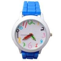 2018 модные часы кожа женские часы с ремешком Повседневное Роскошные простые круглые аналоговый Бизнес кварцевые наручные часы для дам