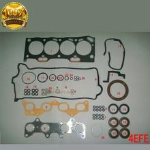 4E 4EFE Motor juego de juntas Completo kit para TOYOTA COROLLA E11/LIFTBACK/1332CC CARRO COMPACTO 16 V 1.4 1996-2001 04111-11141 50177000