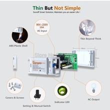 2016 Nouveau Sonoff Télécommande Wifi Smart Switch domotique/Intelligente WiFi Center pour APP Maison Intelligente Contrôle 10A/2200 W