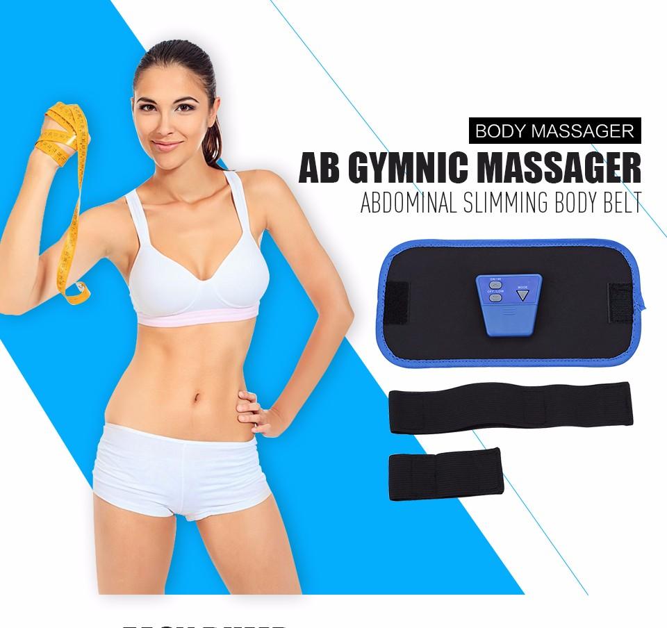 17 Slimming Electronic Belt Body Muscle Arm leg Waist Abdominal Massage Exercise Belt 1