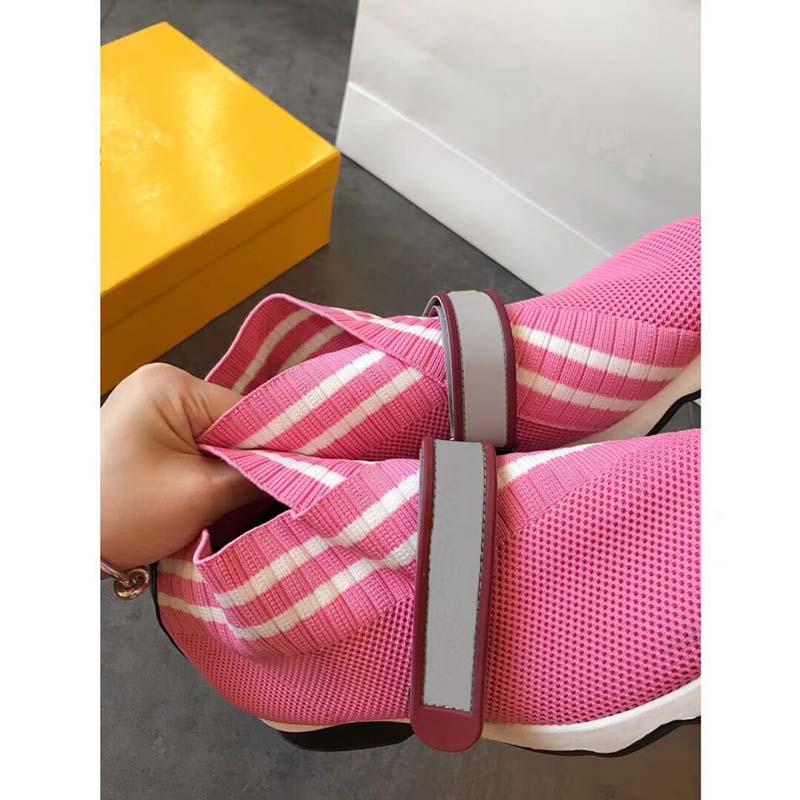 Flexible blanc Léger Amoureux Qualité Supérieure Unique rose Chaussures Design Pour Marque Décontracté Célèbre Respirant Noir Tissu Femmes Stretch T4FwqO