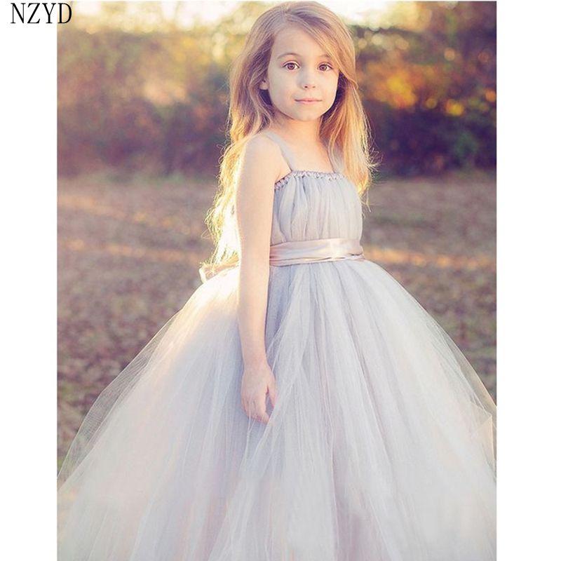 ФОТО 2017 Girls Summer New Fashion Formal Dress Dress Children Birthday Prom Princess Dress Europe Style Noble Kids Clothes DC280
