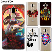 DREAMFOX M155 Wu Tang Killa Bees Hip Hop Soft TPU Silicone Cover Case For Huawei Mate 8 9 10 20 30 Lite Pro k1x k1x killa bees mesh jersey