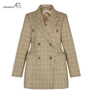 Image 3 - AEL נשים חורף סתיו חליפת מעיל באיכות גבוהה 2017 גרייס נשי מעיל אופנה בגדים