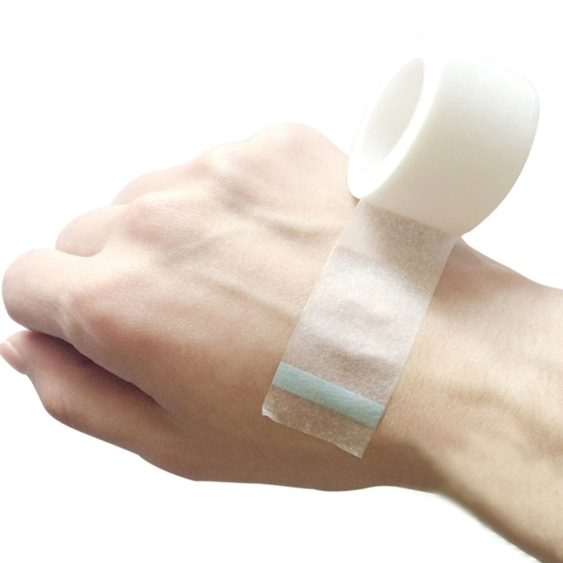 Transparent Medical Tape Breathable Tape Wound Injury Care 1.25cm Or 2.5cm Or 5cm Widths Available Quality Brand