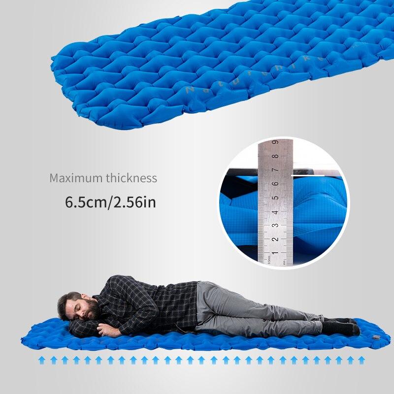 Naturehike нейлоновый ТПУ коврик для сна легкий влагостойкий воздушный матрас портативный надувной матрас коврик для кемпинга