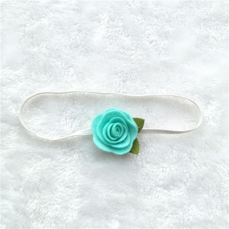 772bc95d54b BalleenShiny Rose Flower Hair Bands Newborn Baby Elastic Photography Props  Headband Lovely Headwear Fashion Hair Accessories -in Hair Accessories from  ...