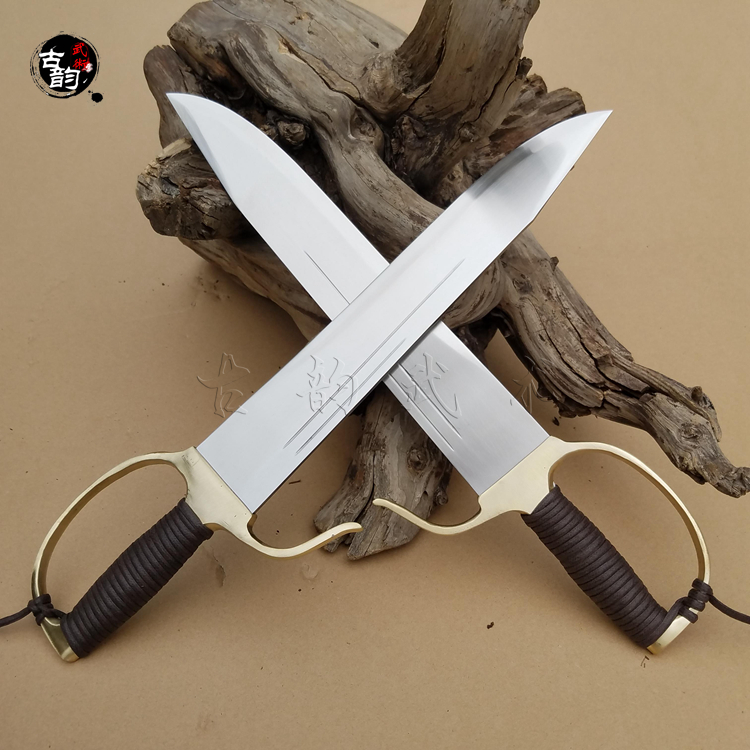 Economic New authentic Wing Chun Butterfly Swords knife, kung fu training swords new design knives Martial arts Bart Cham Dao economic methodology