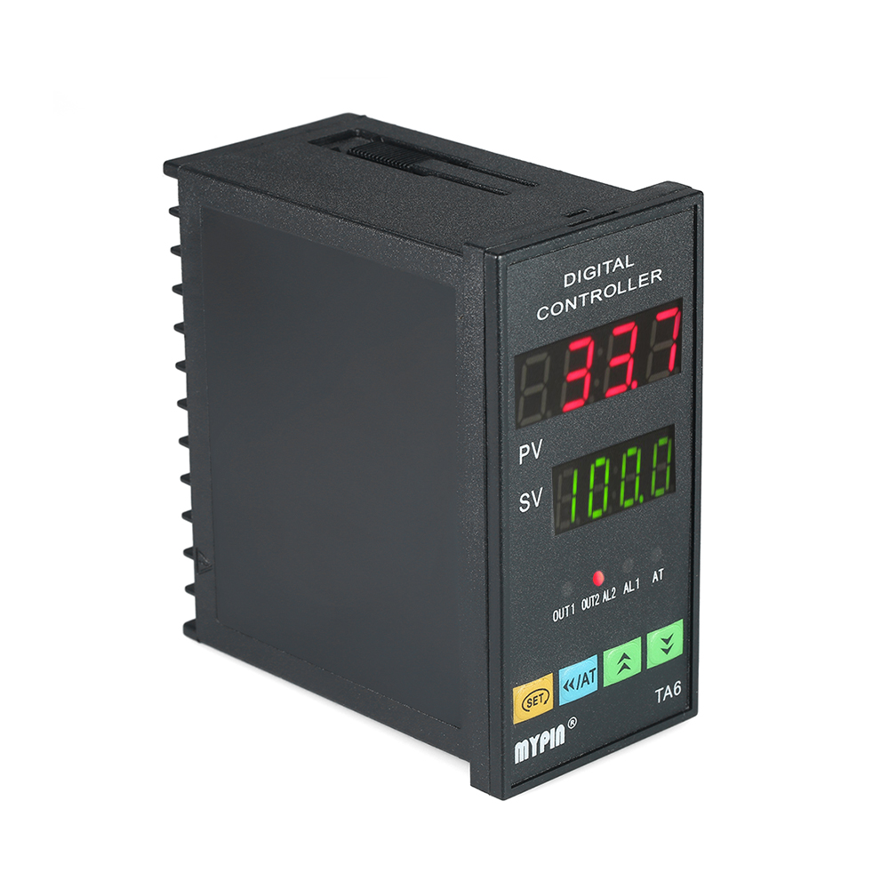 Automatic Digital Temperature Controller Programmable Thermometer RNR 1 Alarm Relay Output TC/RTD LED PID Dual Display xmt9000 low price panel size 80 160 programmable pid digital intelligent industry temperature controller