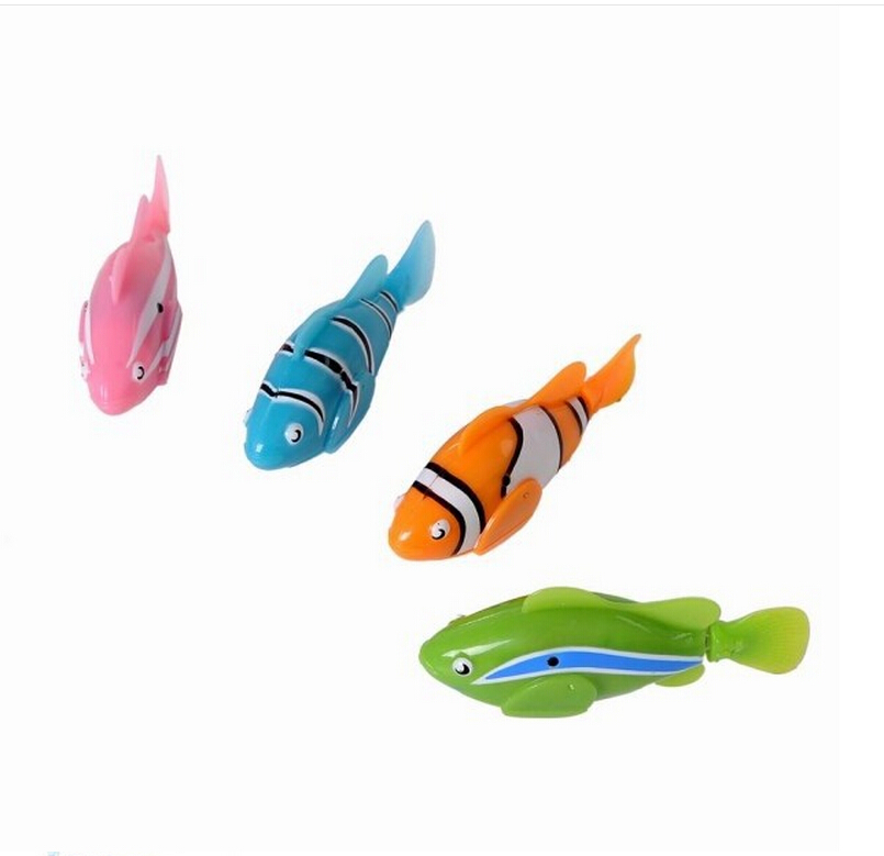Big sale robofish activated battery powered robo fish toy for Robo fish toy