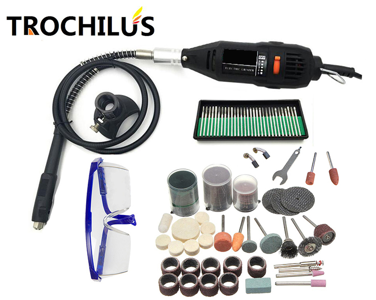 New Power Tools 180W Variable Speed mini Grinder  electric engraver Polishing Tool dremel mini drill DTY Creative tool set 110 230v mini grinder electric dremel drill engraver regulating speed grinding machine for milling polishing dremel accessories
