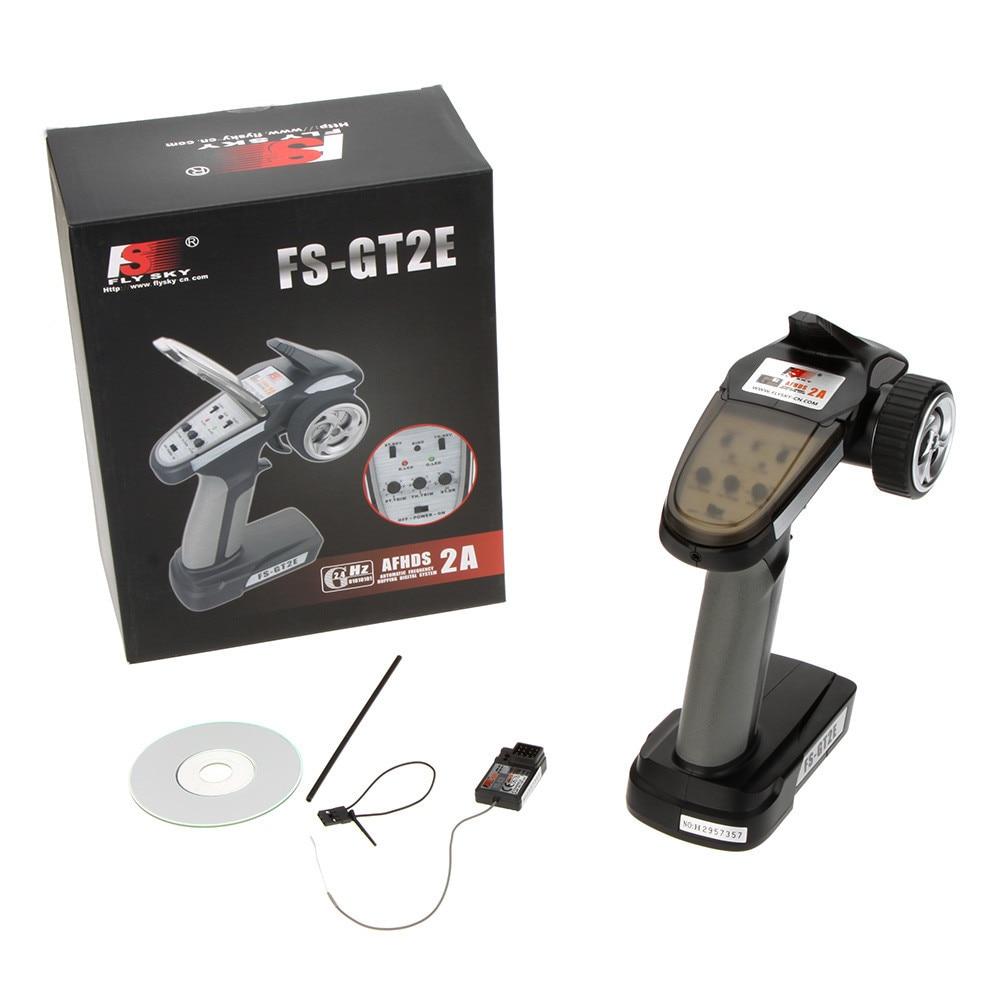 Flysky FS-GT2E AFHDS 2A 2.4g 2CH Pemancar sistem radio untuk bot - Mainan kawalan radio - Foto 6