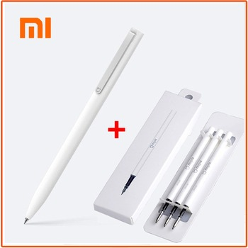 Original Xiaomi Mijia Sign Pens Durable school stationery Ballpoint pen Smooth Switzerland Refill Japan Ink Pens Black Refill