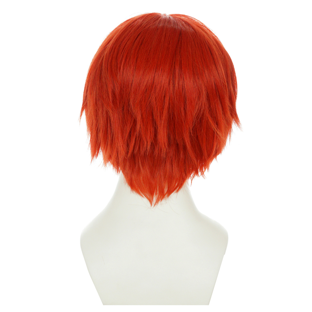 Brdwn Assassination Classroom Akabane Karuma Fate Emiya Shirou 30cm 11 8 quot Short Orange Straight Cosplay Hairwear in Boys Costume Accessories from Novelty amp Special Use
