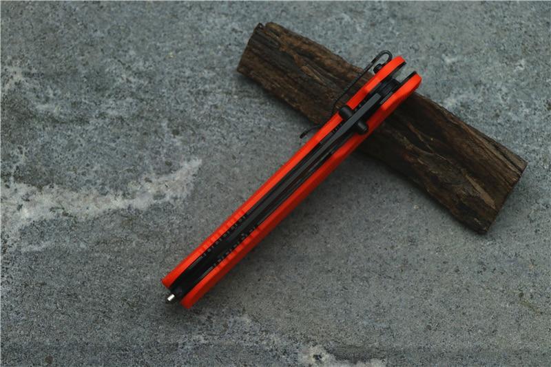 Image 5 - OEM Kershaw 8650 folding knife 8Cr13Mov blade  nylon fiberglass  handle camping hunting fruit knife EDC tool-in Knives from Tools