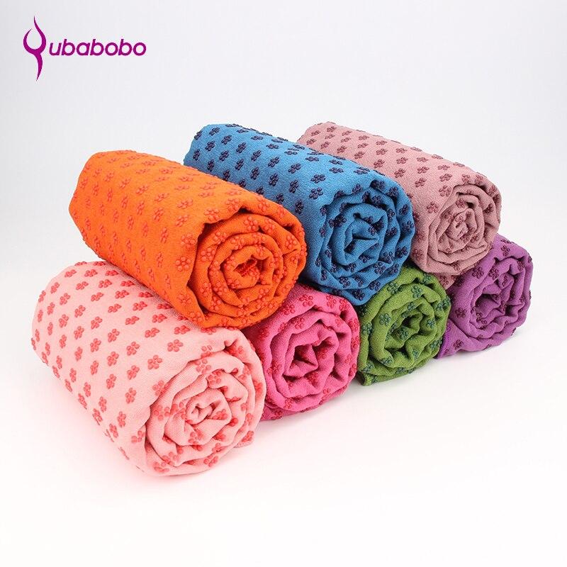 183 * 63 cm rutschfeste yoga matte abdeckung handtuch anti skid mikrofaser yoga matte yoga shop handtücher pilates decken fitness yoga matten