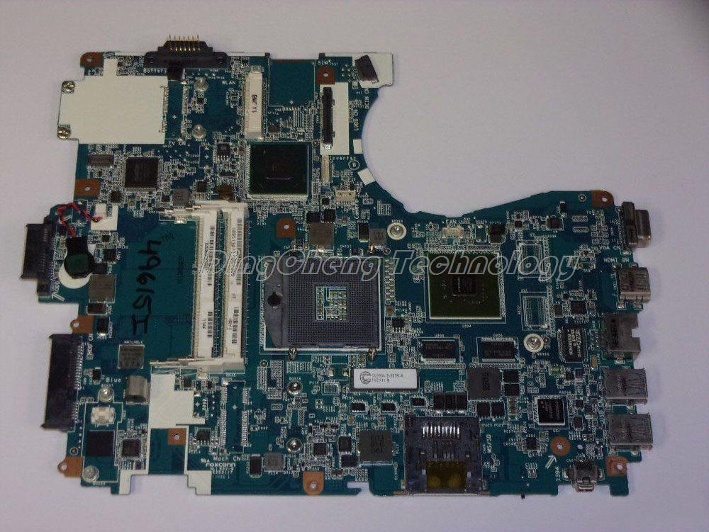 SHELI MBX 243 laptop Motherboard For Sony MBX-243 VPCF23JFX VPCF23 REV:1.1 1P-0113J03-8011 HM65 non-integrated graphics card
