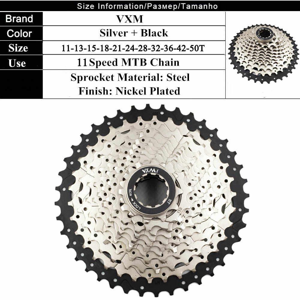 Велосипед vxm маховик 11 S 11-40 т кассета MTB велосипед кассеты свободного хода маховое колесо для SRAM Shimano XT R XT SLX M7000 M8000 M9000