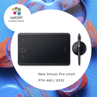 Wacom Intuos Pro Creative Pen Tablet Graphic Drawing Tablets (PTH 460 Small) 8192 / Multi touch / Wireless Bluetooth