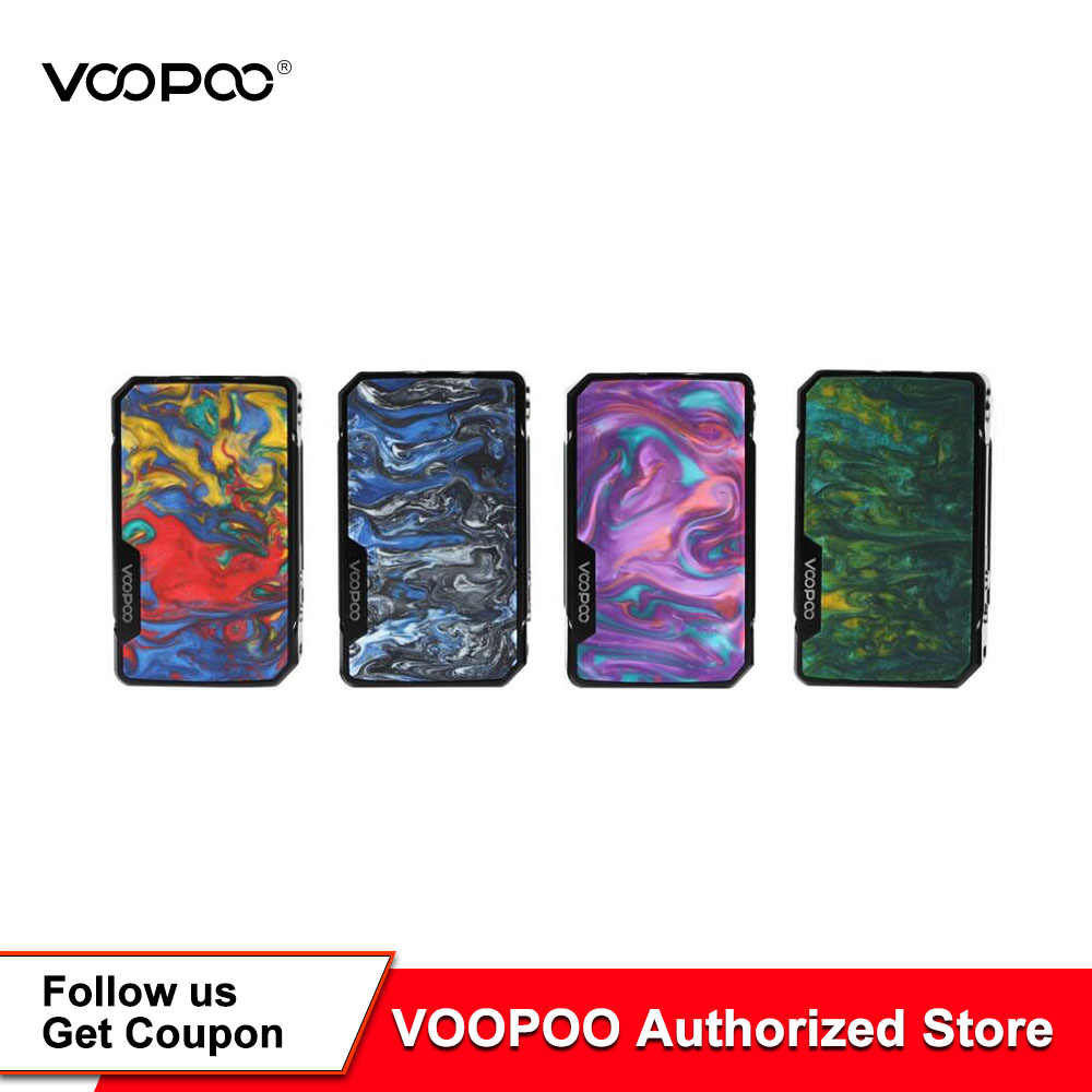 Original VOOPOO Drag Mini Box Mod Drag Mini 117W Mod Electronic Cigarette Vape Mods Voopoo Vaporizer Powered VS Drag 2 Drag 157w