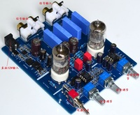 YJ Fever HIFI Bile Preamp 6J1 Tube with High and Low Sound Adjustment HIFI Audio Amplifier Preamplifier