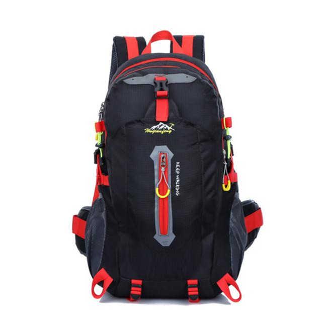 2779e8044bd1 New Design 40L Outdoor Hiking Camping Rucksack Waterproof Nylon Travel  Luggage Backpack Bag High quality Bolsas For Dropshipping