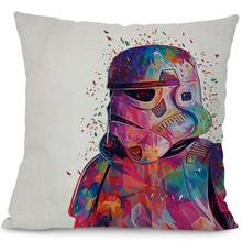 Watercolor Star War Printed Cushion Covers
