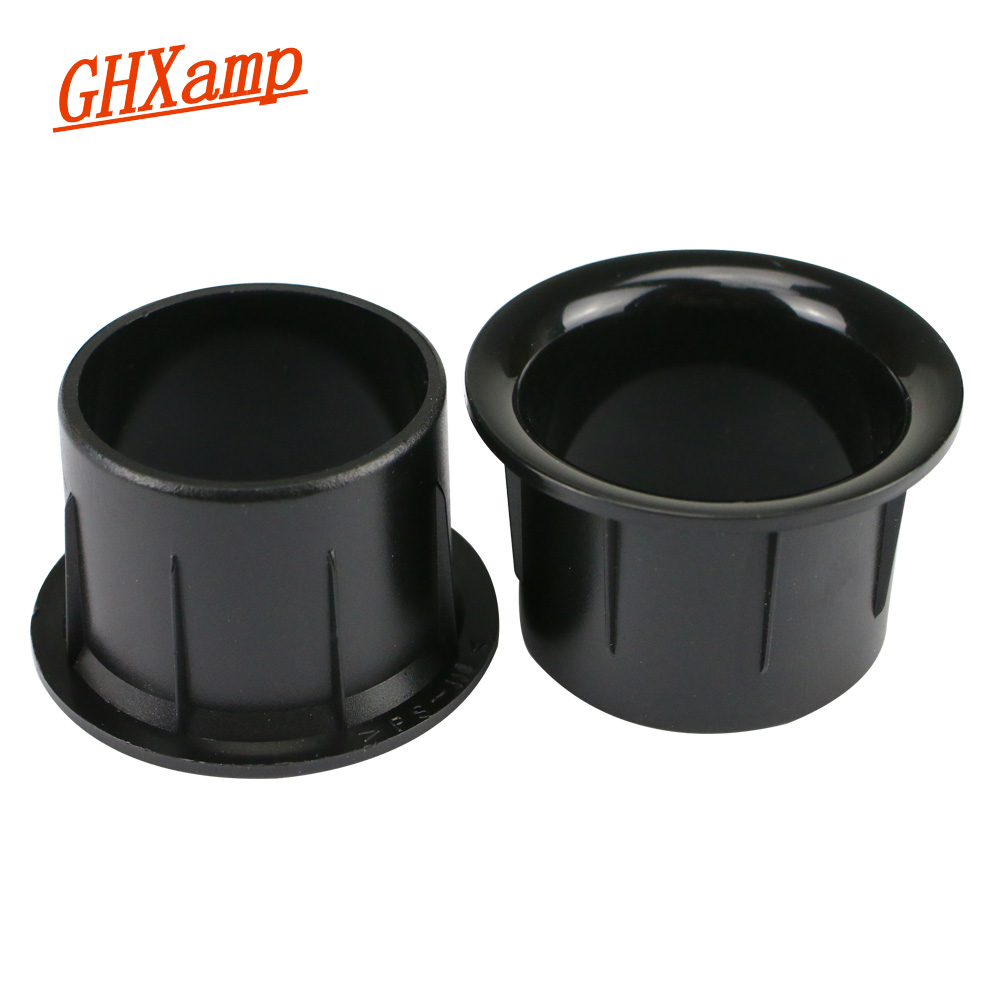 GHXAMP Speaker Phase Tube Guide Tube For 3-4 Inch Speaker Dedicated Inverter Tube Opening 39mm*28mm 2pcs