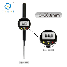 0-50 mm High Precision 0.001mm Digital Indicator Electronic Micrometer Digital Dial Indicator Gauge With Retail Box 0 50 mm high precision 0 001mm digital indicator electronic micrometer digital dial indicator gauge with retail box