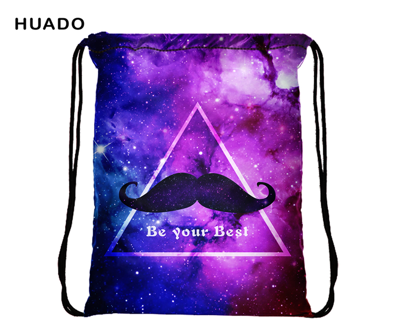 Colorful Drawstring Bag Waterproof Travel Backpack Sport Gym Bag Yoga Runner  Daypack Gym Sacks for lady   men -in Gym Bags from Sports   Entertainment  on ... cfaf723fae