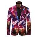 Printing Casual Blazer Men Fashion Plus Size 6XL Business Slim Fit Jacket Suits Masculine Blazer Coat Men Formal Suit jacket