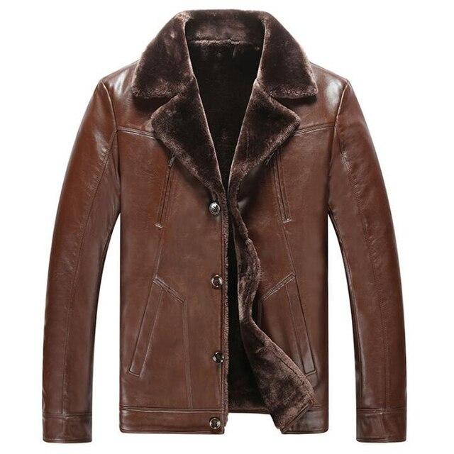 Личность Мужская Меховая Куртка Пальто Для Мужчин Плюс Размер XXXL Мужские Dress Костюм Куртки Замши Бархат Зимние Меховые Пальто Мужчины Новый C327