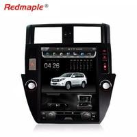 12,1 вертикальный огромный экран Android автомобильный стерео DVD gps навигационный радио плеер для Toyota Land Cruiser Prado 2010 32G ROM 2013
