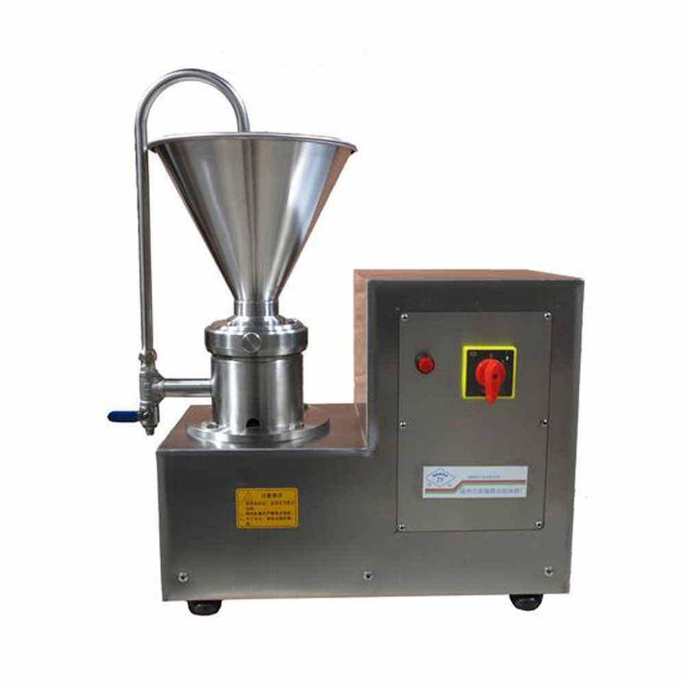 750W Paste butter Refining Machine Vertical Colloid Mill Machine Mill Soaked Almond Soybean Grind Peanuts, Sesame, Walnuts