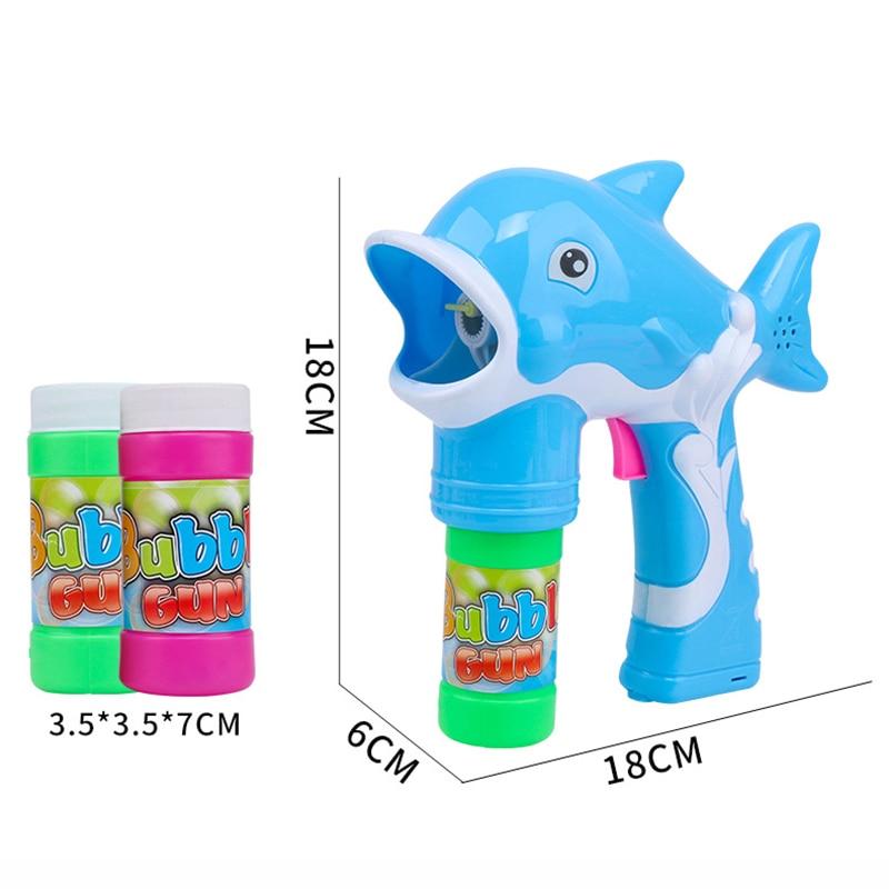 Bubble material toy water bubble Electric machine bubble supplement safety summer liquid gun