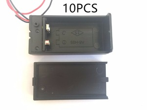 Image 1 - 10PCS  9V Battery Holder Box Case with Wire Lead ON/OFF Switch Cover Case