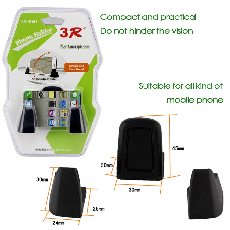 Atreus 3pcs Dashboard Car Mobile Phone Gps Holder Bracket Kit For Small Choyo Bag Smartphone Ampamp 1set Brackets 1 2 3
