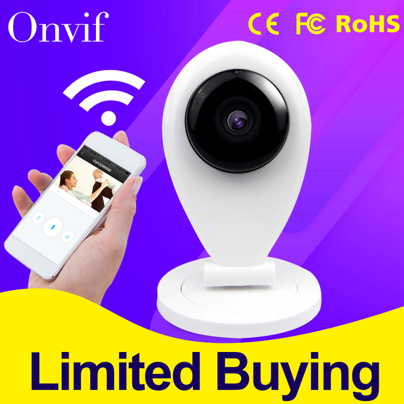New Arrivall HD 720P WI FI Wireless P2P Mini Baby Monitor CAM Smart Onvif Network Outdoor