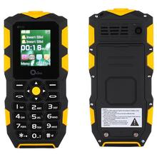 2017 Original Waterproof phone Mobile Power Bank GSM Senior old man IP68 Rugged shockproof cell phone Dual sim  flashlight