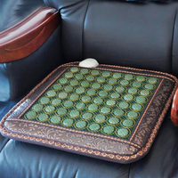 Best Selling Natural Tourmaline Heating Mat Jade health care pad infrared heat cushion!Size:50cmX50cm Free shipping