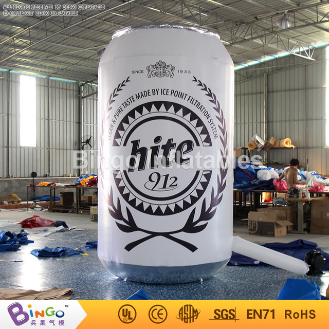 Free Delivery Blow Up Bar Pool Beach Party 3M toy Beer Cans Inflatables