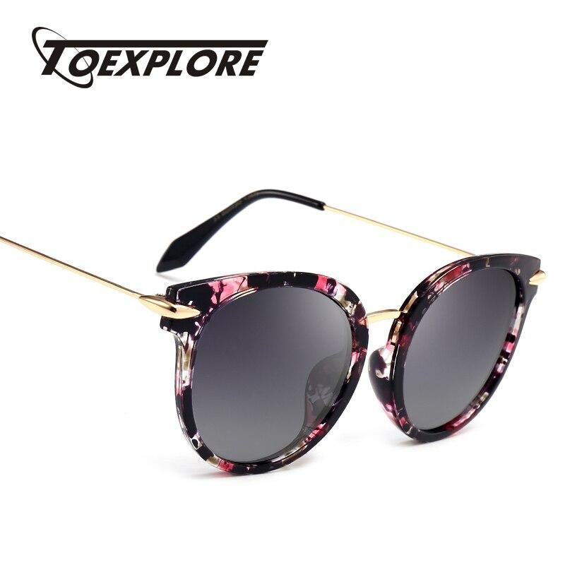 TOEXPLORE Polarizada óculos de Condução Dos Homens Anti-Reflexo óculos de  Sol Olho de Gato das Mulheres Glaases Eyewear Óculos de Sol Marca de Luxo  Designer ... a30b1361ab