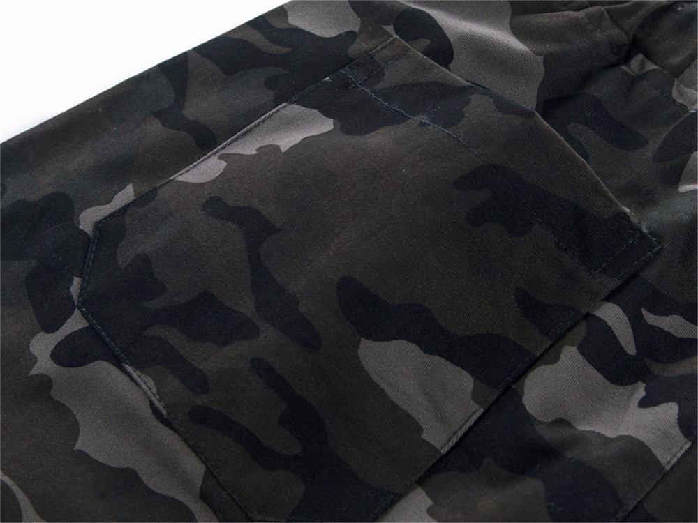 Cotton Mens Jogger Autumn Pencil Harem Pants 2020 Men Camouflage Military Pants Loose Comfortable Cargo Trousers Camo Jogger 19