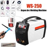 220 В 250A светодиодный цифровой аргона инвертор сварочный аппарат Arc WS 250 MOS TIG MMA W Старший для сварки