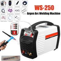 220V 250A LED Digital Argon Inverter Arc Welding Machine WS 250 MOS TIG MMA W elder for Welding