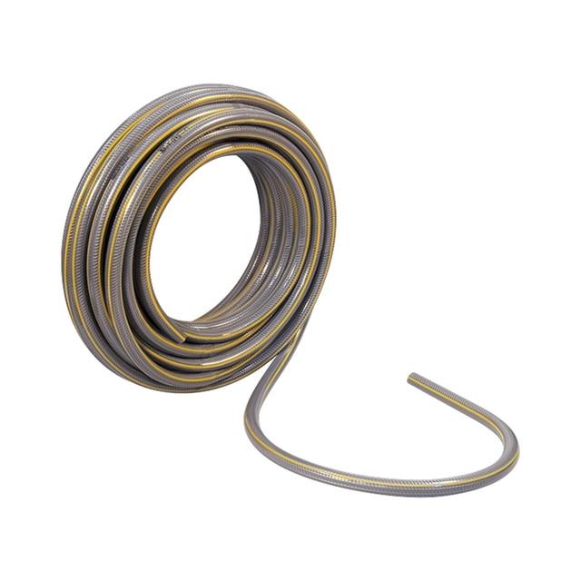 Шланг армированный PALISAD 67465 (Поливочный 4 - слойный, ПВХ, внешний диаметр 3/4 дюйма, 19 мм, длина 25 м, давление 25 бар, вес 5.2 кг)