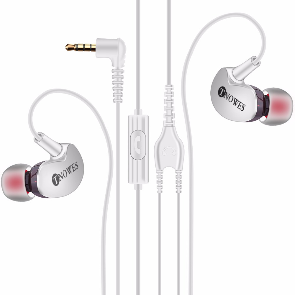 Tnowes Sport Earphones Headphones Headphones 3.5mm Super Bass Stereo - Audio y video portátil - foto 3
